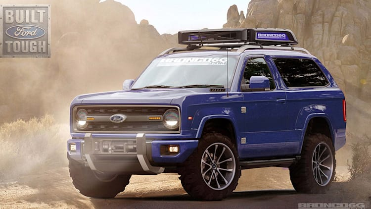 Ford Bronco 2015 >> 2020 Ford Bronco Here S Everything We Know Autoblog