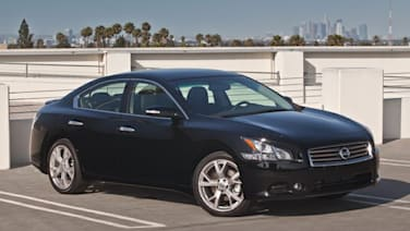 2013 Nissan Maxima vs 2013 Honda Accord and 2013 Chevrolet Impala