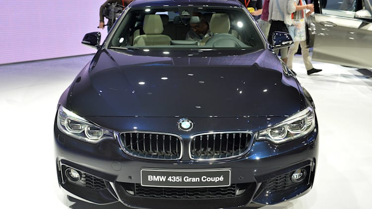 BMW 4 Series Gran Coupe blows the doors back on [w/video