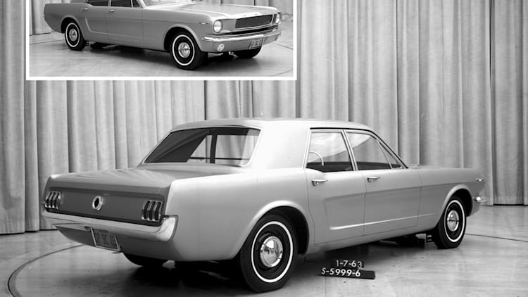 Ford Mustang family-car approach was considered before Mach-E, in 1960s |  Autoblog