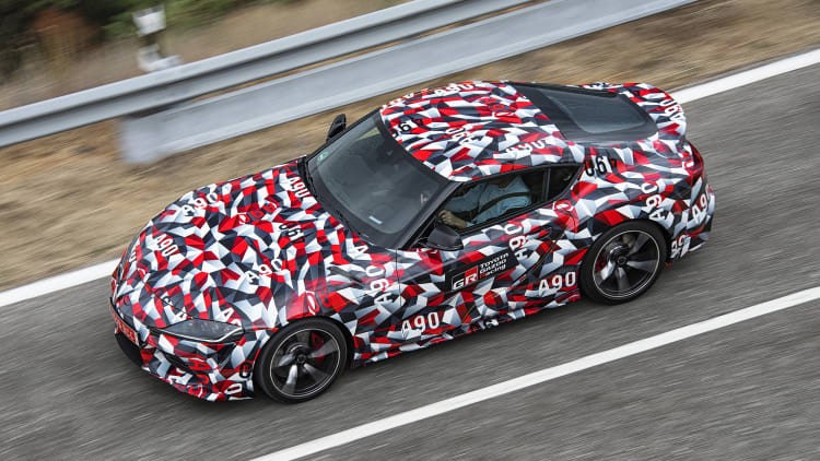 Toyota Supra manual gearbox? It exists but needs 'market feedback