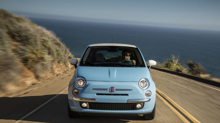 Fiat Opens Up Vintage Style 1957 Edition To 500 Cabrio Autoblog