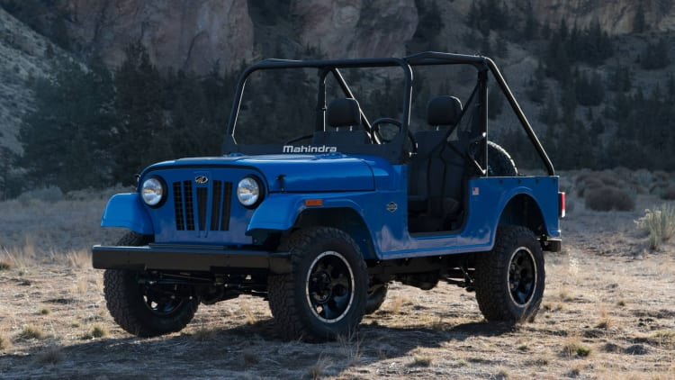 Mahindra introduces the Roxor off-road vehicle to the U S