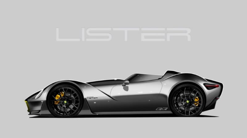 Lister CEO teases updated Knobbly concept roadster