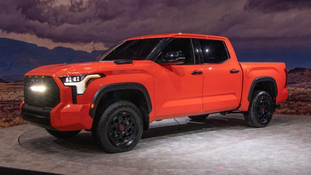 2022年丰田Tundra重新设计:双涡轮V6,可选混合动力