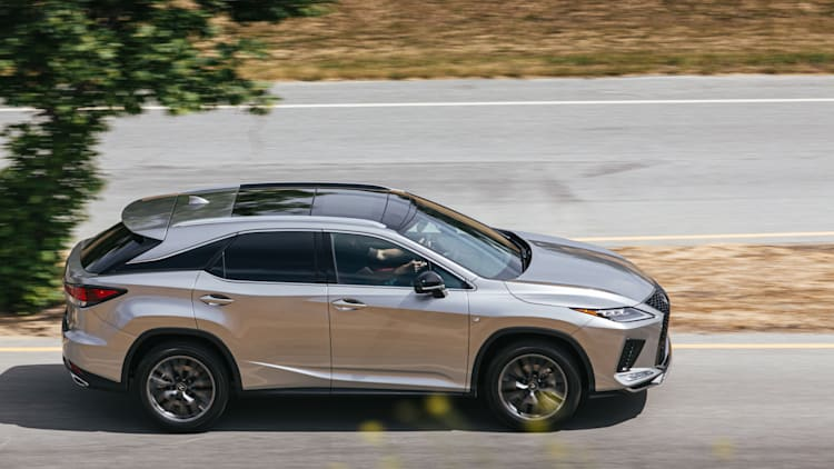 2020 Lexus Rx350 And Rx450h Updated With New Styling Improved Tech