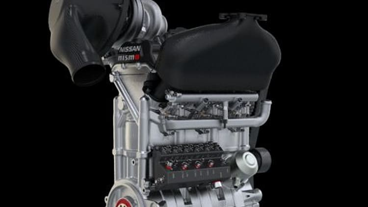 This tiny 1 5L engine from Nissan makes 400 horsepower | Autoblog