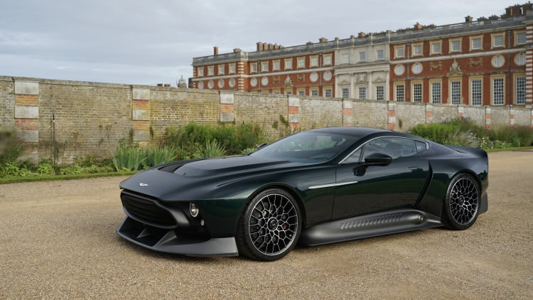 Aston Martin Victor Is A V12 One Off Masterpiece Based On The One 77 Autoblog