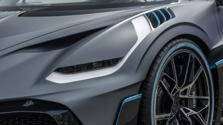 Bugatti Divo is 'for the bends,' while the Chiron is for the