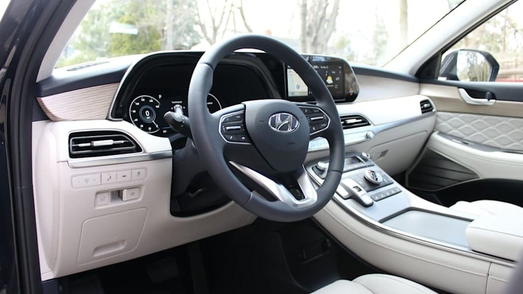 2021 Hyundai Palisade Calligraphy Interior Review