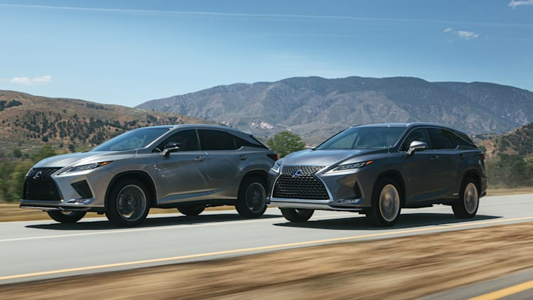 2020 Lexus RX350 and RX450h updated with new styling