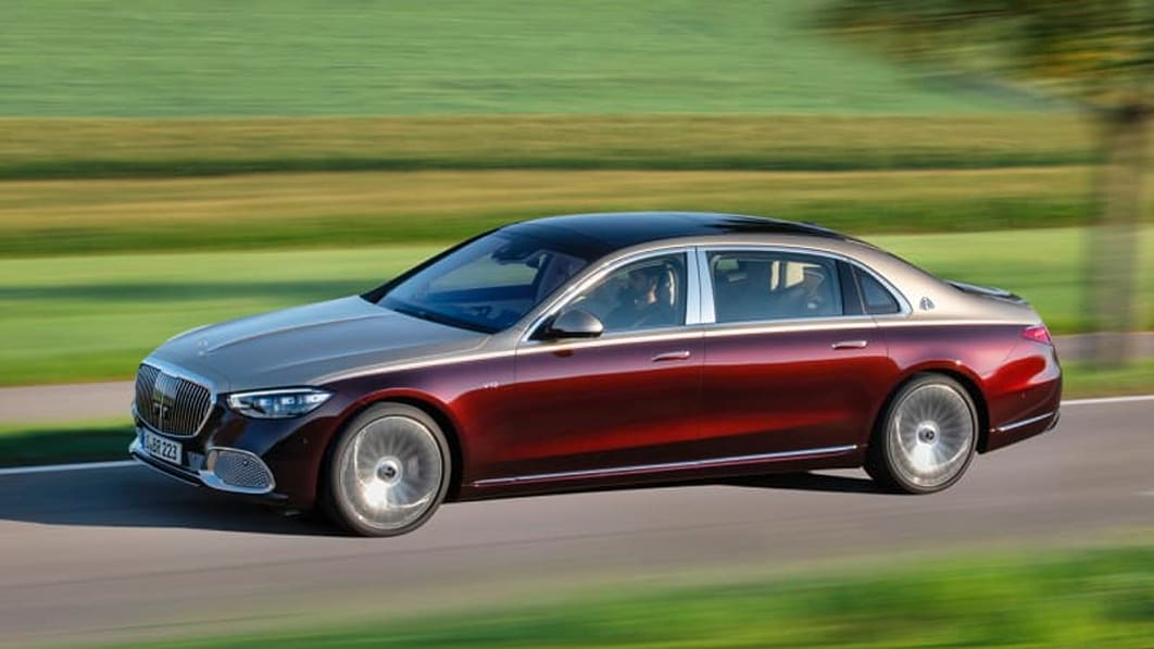 2022 Mercedes-Maybach S 680 adds the V12 and even more opulence