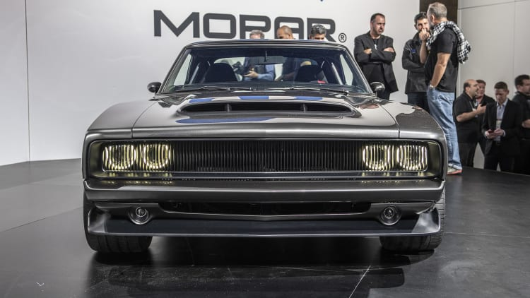 1968 Dodge Super Charger Has The 1 000 Hp Hellephant Engine Autoblog