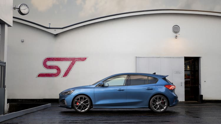 Ford Focus ST: Details on more powerful new model the U S  won't get