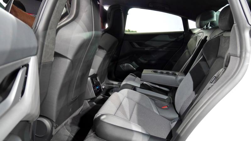 Porsche Taycan Interior We Get Our First Good Look Inside The Ev Autoblog