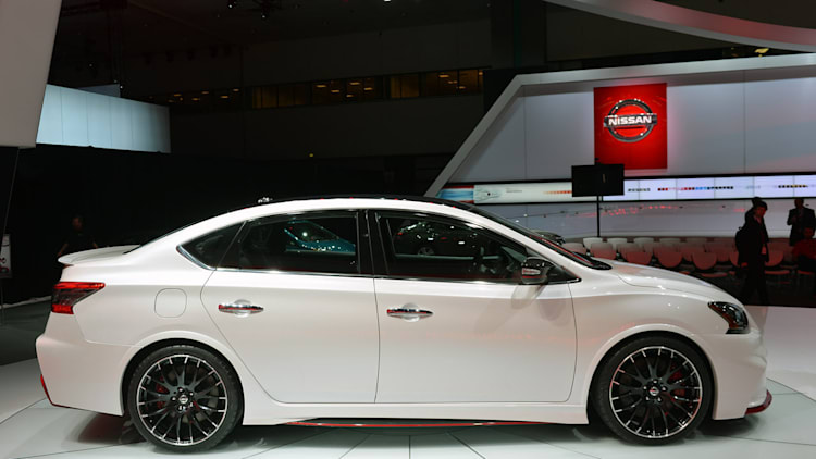 Nissan Sentra Gets Mean With 240 Hp Nismo Concept Autoblog After potential federal tax credit on qualified nissan leaf. autoblog