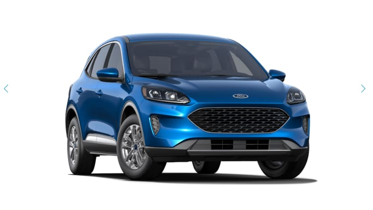 2018 Ford Escape Colors >> All The 2020 Ford Escape Paint And Interior Color Options