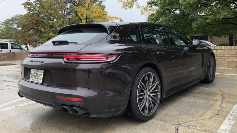 The Porsche Panamera Sport Turismo Is The Panamera You Want Autoblog
