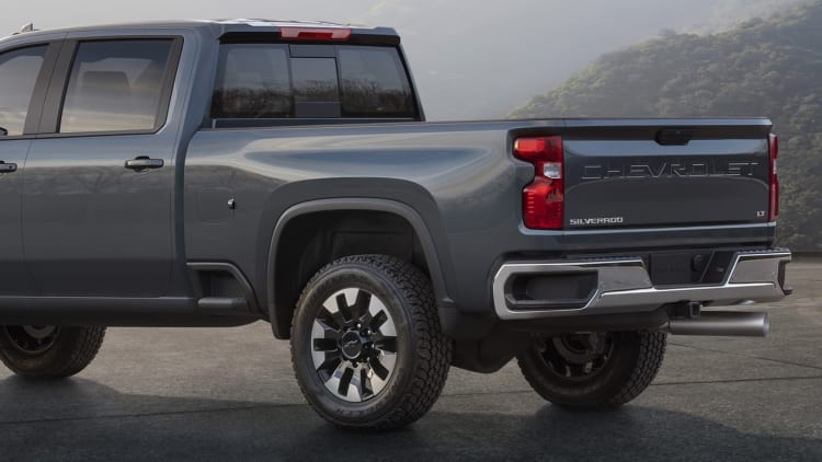 2020 GMC Sierra HD face teased, reveal later this year