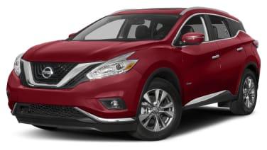 2016 Nissan Murano Hybrid Sl 4dr All Wheel Drive