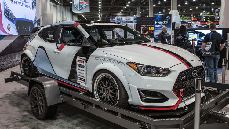 Hyundai plans line of 2019 Veloster Turbo performance parts