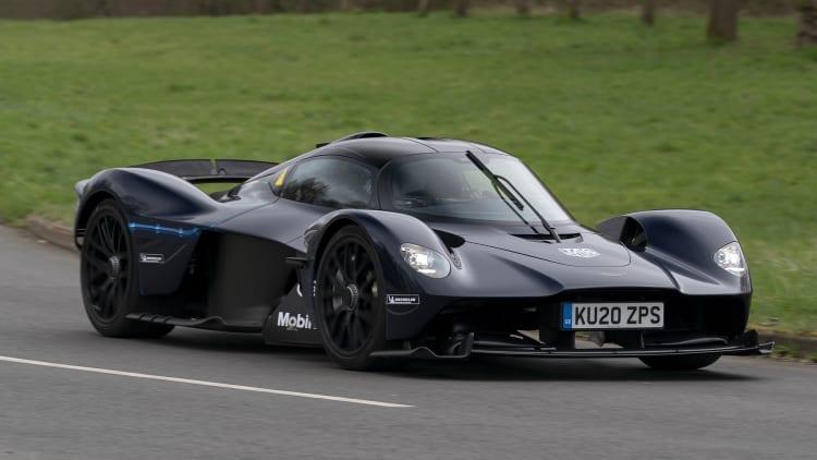 Aston Martin Valkyrie Begins On Road Testing Autoblog