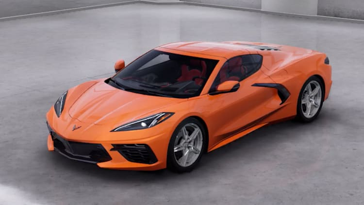 2020 Chevrolet Corvette Paint And Interior Color Choices Autoblog