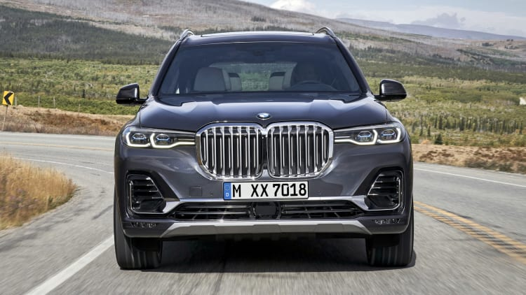2019 Bmw X7 Flagship Suv Officially Revealed Autoblog