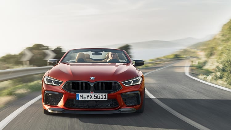 Bmw Reveals Its M8 In Coupe Convertible And Competition Form Autoblog