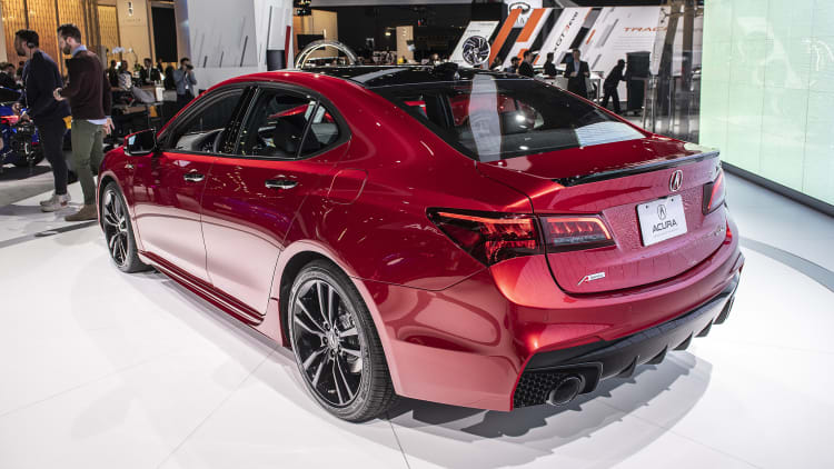 Acura Tlc Pmc Hand Built Edition Priced Over 50 000 Deliveries