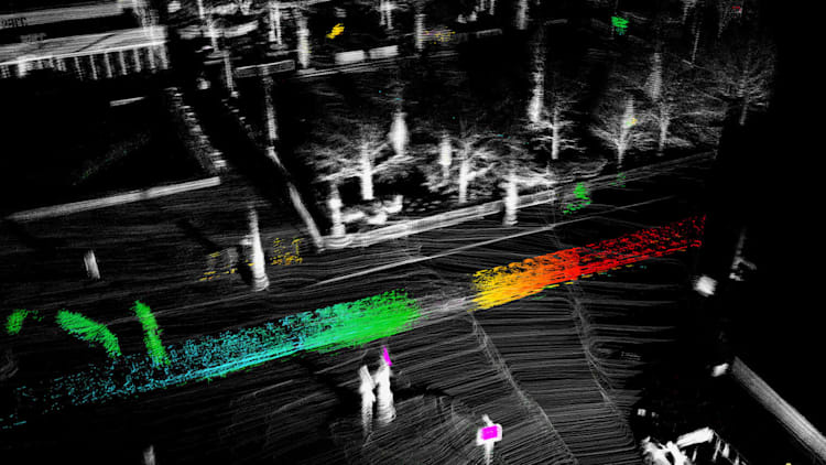 We demo new lidar technology that sees twice as far   Autoblog