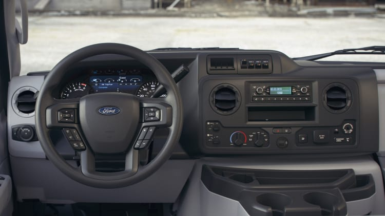 ford refreshes its commercial vehicle lineup autoblog ford refreshes its commercial vehicle