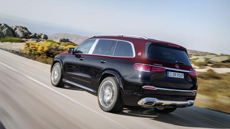 2021 Mercedes Maybach Gls 600 Luxury Suv Unveiled Autoblog