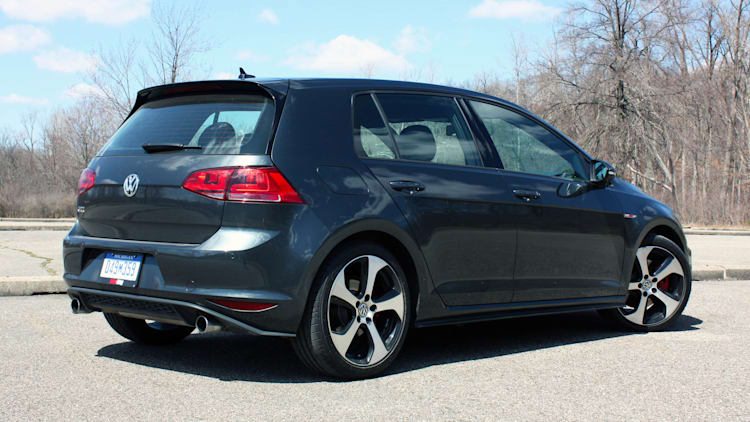 The Volkswagen GTI was our daily driver of choice | Autoblog