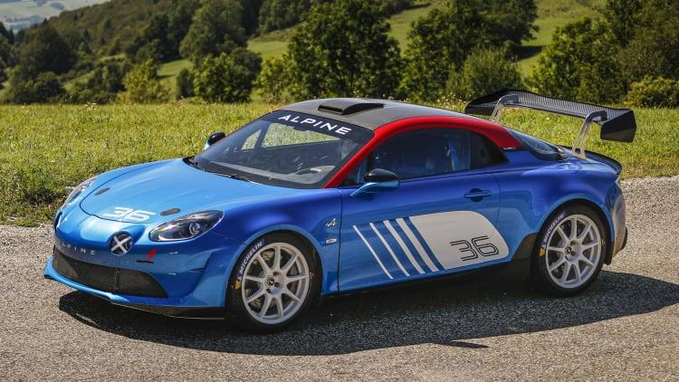 Alpine A110 rally car revealed for R-GT class | Autoblog