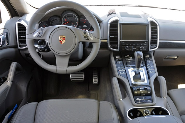 First Drive 2011 Porsche Cayenne Turbo Sheds 4 177 Twinkies And It Shows Autoblog