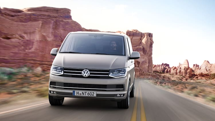 Latest Volkswagen Transporter shows itself as the modern Microbus