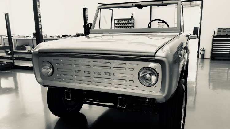 Electric Ford Bronco revealed, built by Zero Labs | Autoblog