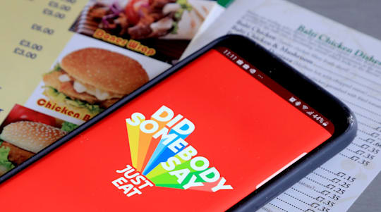 Just Eat orders soar 79% in three months amid lockdown takeaway boom