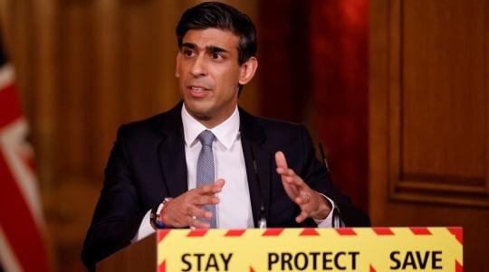 Sunak rejects 'naked pork barrel politics' claims over regeneration funding