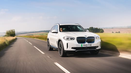 First Drive: BMW's iX3 shows off firm's electric intent