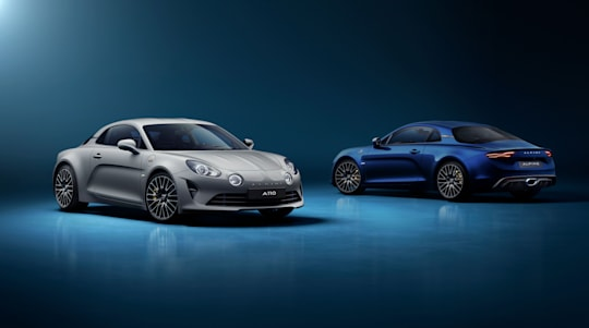 New Alpine A110 Legende GT arrives with more power and unique colour schemes