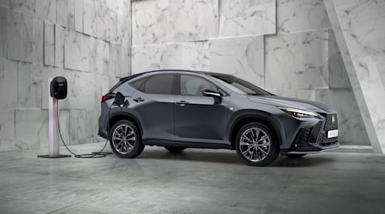 New Lexus NX revealed with overhauled interior and plug-in power