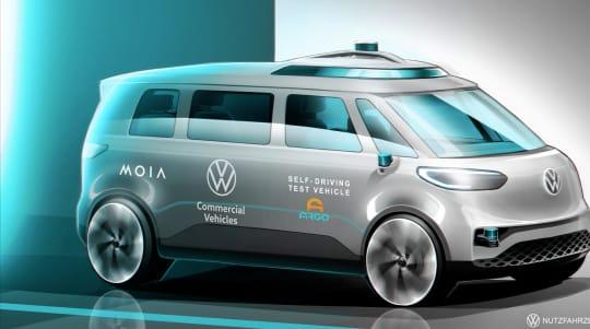 Volkswagen set to commence trials of autonomous ID. Buzz