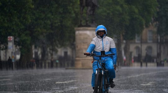 London's flash flooding shows 'danger of climate change', says mayor