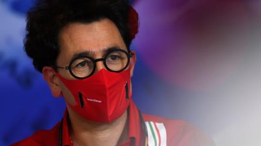 Mattia Binotto determined to improve Ferrari but admits focus already on 2022