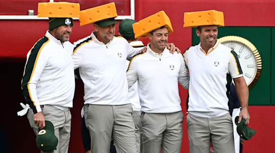 Europe players go on charm offensive with 'cheeseheads' to appeal to local fans