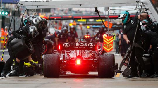 Lewis Hamilton 'really sorry' as Lando Norris secures shock pole in Sochi