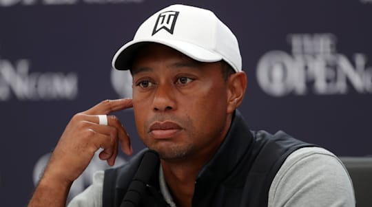 Tiger Woods grateful for 'touching' gesture as players wear red and black