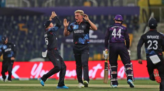 Richie Berrington upbeat despite another T20 World Cup defeat for Scotland